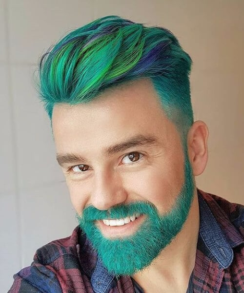 unicorn beard modern haircuts for men