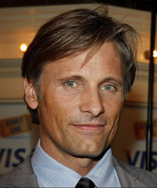 viggo mortensen medium hairstyles for men