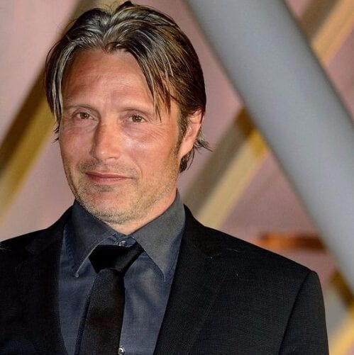 Mads Mikkelsen mens hairstyles for thin hair