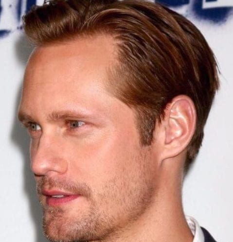 alexander skarsgard mens hairstyles for thin hair