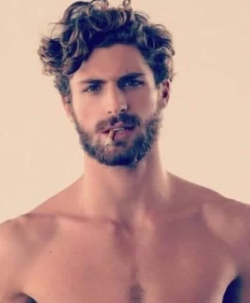 Bed Head Short Curly Hairstyles For Men