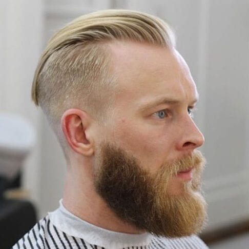 blonde hairstyles for men with receding hairline