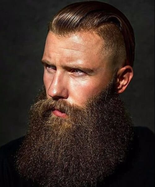 bog beard shaved hairstyles for men