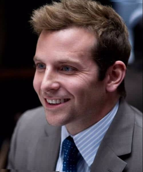 bradley cooper hairstyles for men with receding hairline