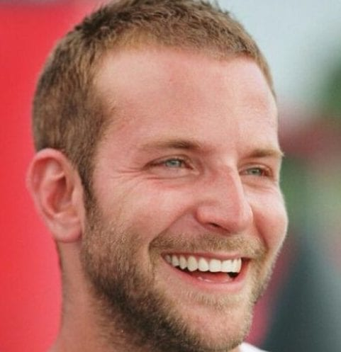 bradley cooper mens hairstyles for thin hair