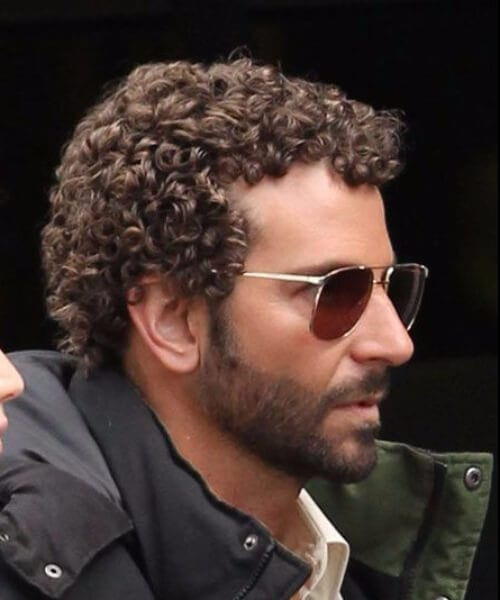 bradley cooper short curly hairstyles for men