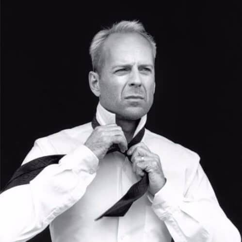 bruce willis hairstyles for men with receding hairlines