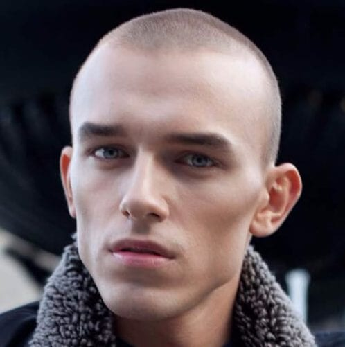 buzz cut mens hairstyles for thin hair