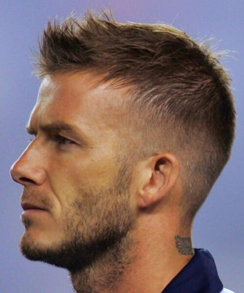 david beckham hairstyles for men with receding hairlines
