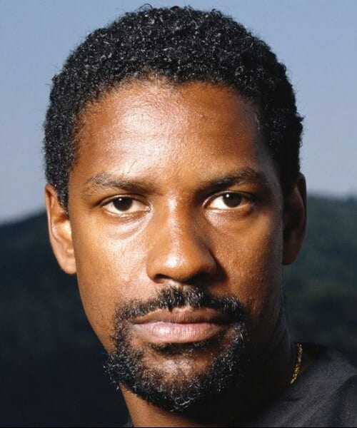 denzel washington short curly hairstyles for men