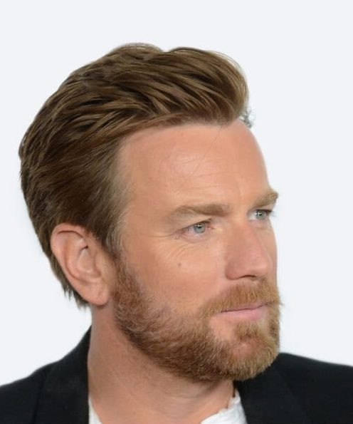 ewan mcgregor hairstyles for men with receding hairstyles