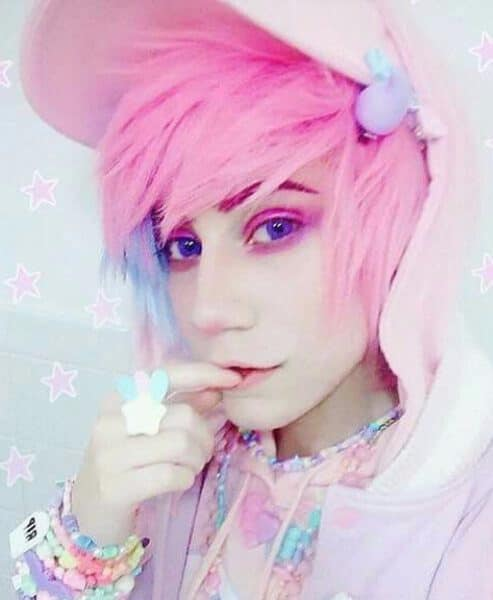 fairy aesthetic emo hairstyles for guys