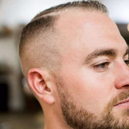 Hard Part Hairstyles For Men With Receding Hairlines