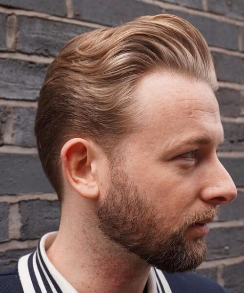 high and layered hairstyles for men with receding hairlines