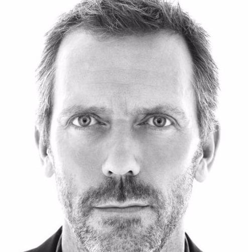 hugh laurie mens hairstyles for thin hair