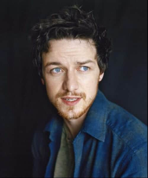 James Mcavoy Short Curly Hairstyles For Men