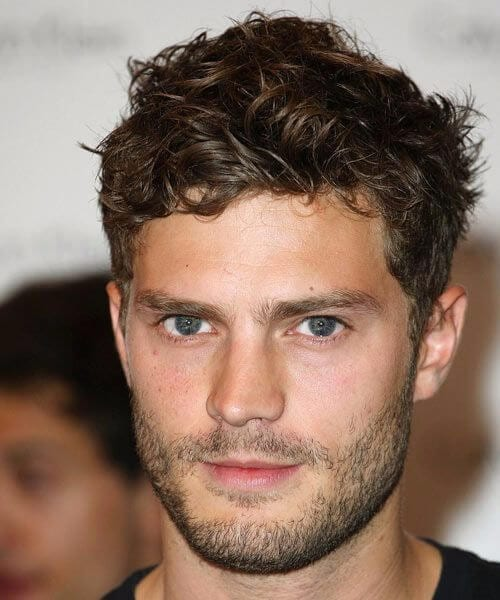 jamie dornan short curly hairstyles for men