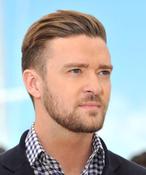 justin timberlake shaved hairstyles for men