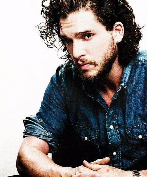 kit harrington short curly hairstyles for men