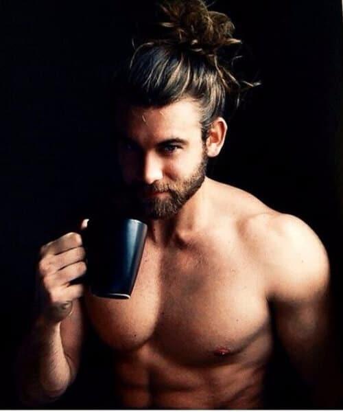 50 Inspirational Man Bun Hairstyle Choices Menhairstylist Com Men