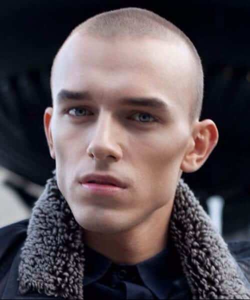 number one buzz cut shaved hairstyles for men