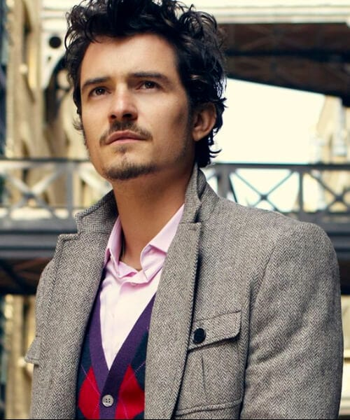 orlando bloom short curly hairstyles for men