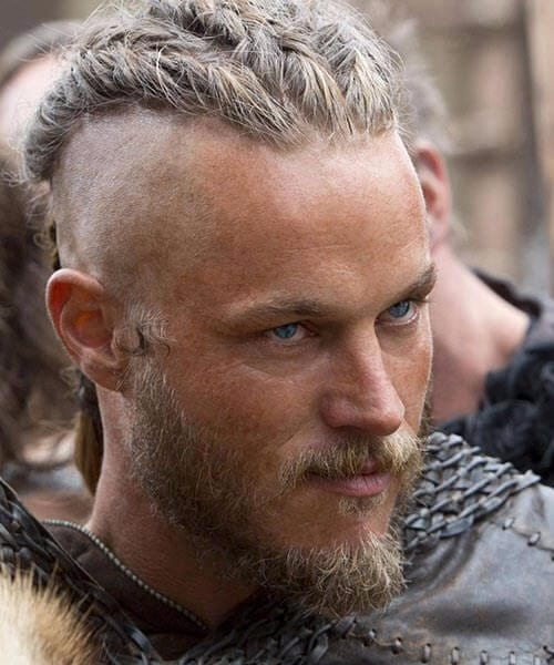 ragnar shaved hairstyles for men