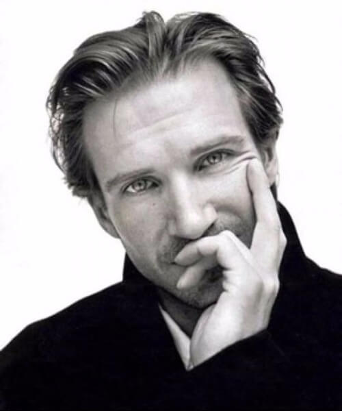 ralph fiennes hairstyles for men with receding hairlines