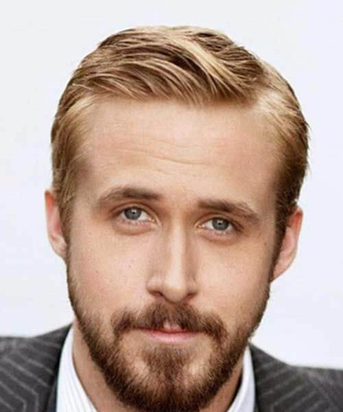 ryan gosling mens hairstyles for thin hair