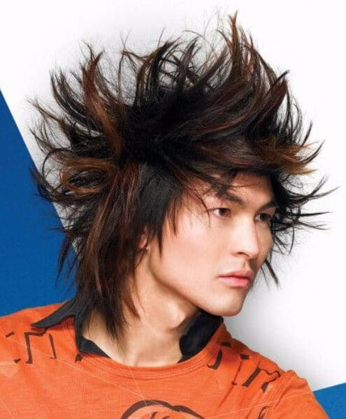 sauvage emo hairstyles for guys