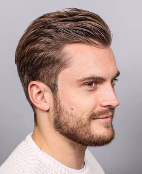 Slick Back Hairstyles For Men With Receding Hairlines