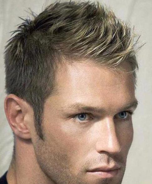 spikes mens hairstyles for thin hair