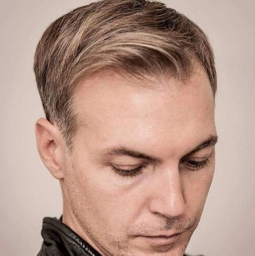 taper mens hairstyles for thin hair
