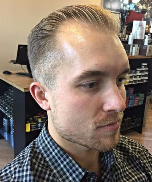 45 hairstyles for men with receding hairlines
