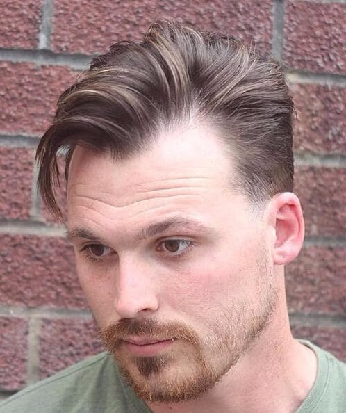 widow's peak hairstyles for men with receding hairlines