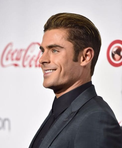 zac efron shaved hairstyles for men
