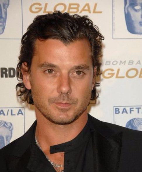 Gavin Rossdale widows peak hairstyles