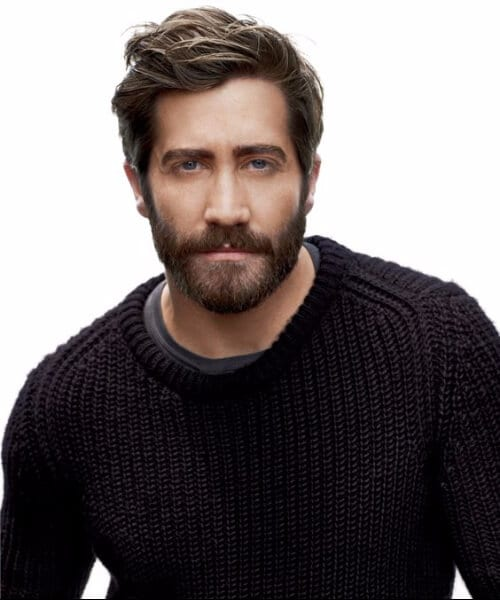 Jake Gyllenhaal hairstyles for men with wavy hair