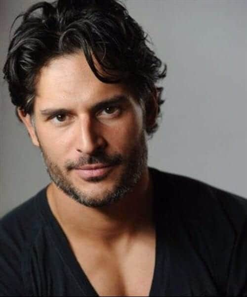 Joe Manganiello hairstyles for men with wavy hair