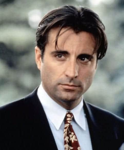 andy garcia widows peak hairstyles