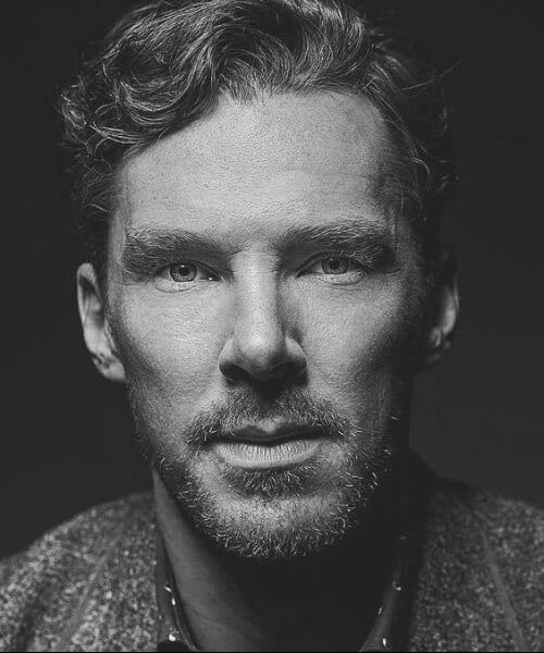 benedict cumberbatch hairstyles for men with wavy hair