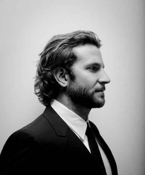 bradley cooper hairstyles for men with wavy hair