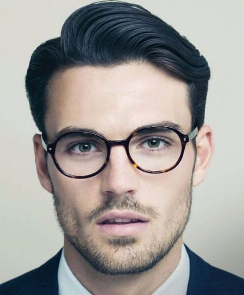 clark kent side part hairstyles