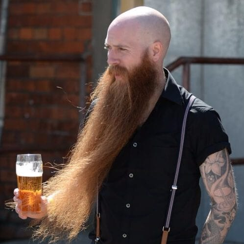 extreme beard bald viking hairstyles