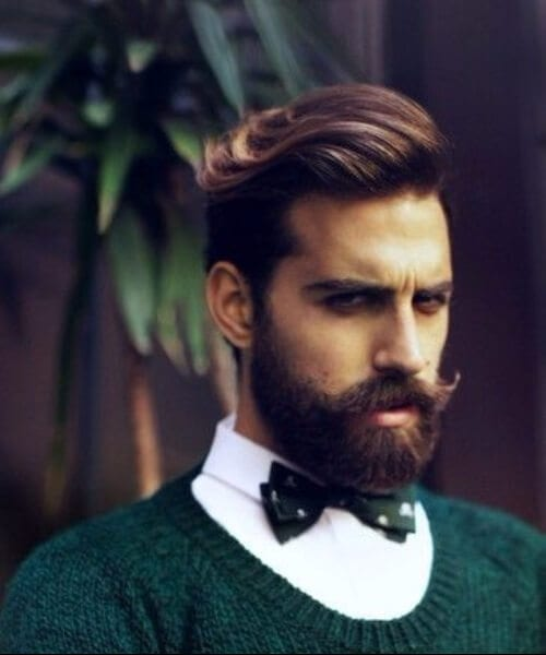 gentleman widows peak hairstyles