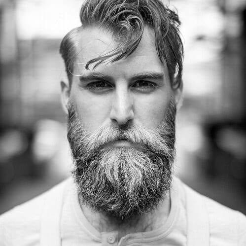 handsome elegant viking hairstyles