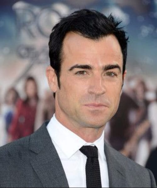 justin theroux widows peak hairstyles
