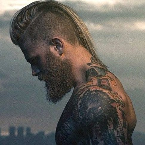 long mohawk viking hairstyles