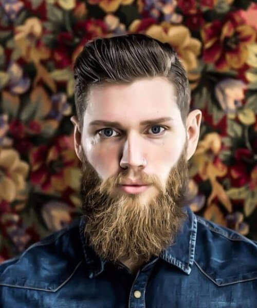 lumberjack side part hairstyles