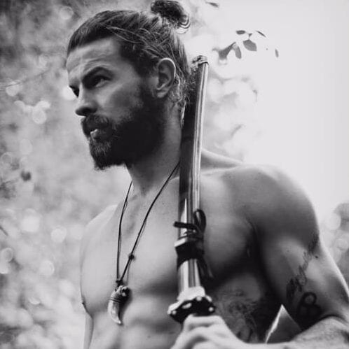 man bun viking hairstyles